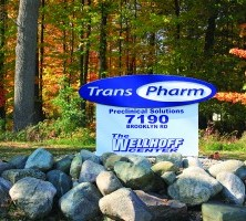 transpharm outdoor sign